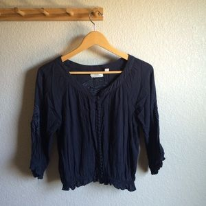 Urban Outfitters Cropped Blouse
